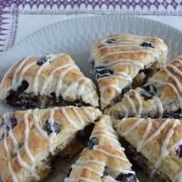 Blueberry & Lemon Ricotta Scones